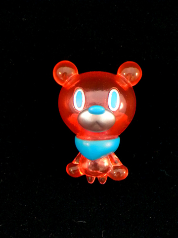 PICO HITCH BEAR CLEAR RED