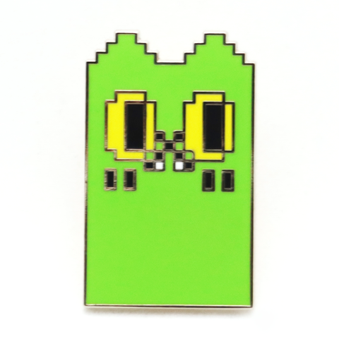 BEN The Ghost Cat PINS Dot