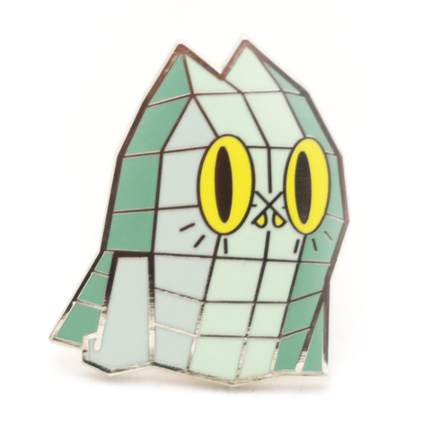 BEN The Ghost Cat PINS Low POLYGON