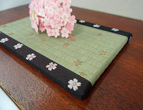 装飾ミニ畳 桜舞