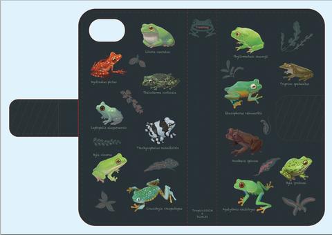 ツリーフロッグ手帳型iPhoneケース 7Plus(6Plus)用