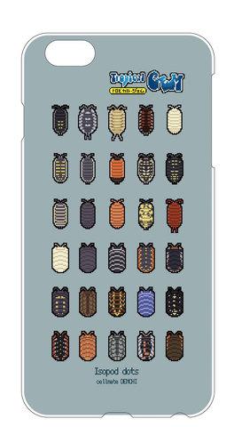 ワラジダンゴムシiPhoneケース iPhone6,6s、7用