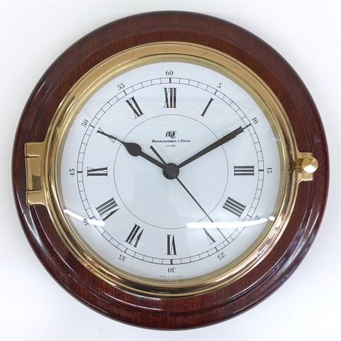 OLD ABERCROMBIE&FITCH WALL CLOCK.