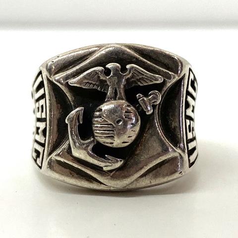 70s~ U.S.M.C. MILITARY RING.