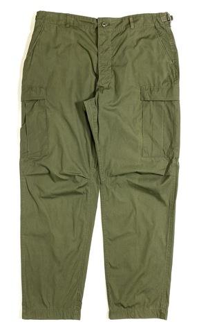 70s U.S.ARMY NON WASH? NON RIP. JUNGLE FATIGUE PANTS.