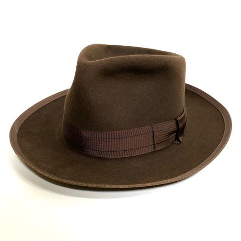 "~50s J.C.PENNEY ""MARATHON HATS"" FEDORA HAT."