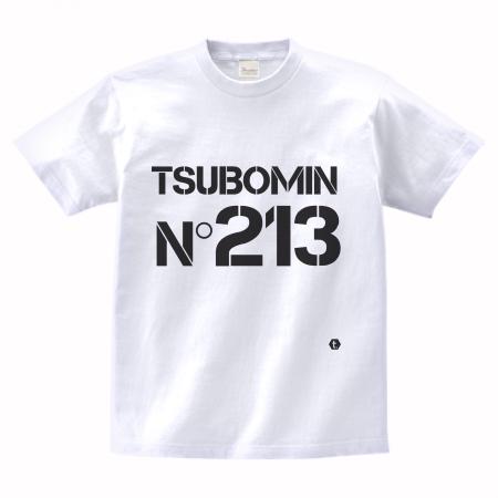 TSUBOMIN / No213  T-SHIRT WHITE