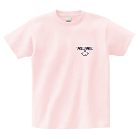 TSUBOMIN / ONEPOINT ICON T-SHIRT LIGHT-PINK