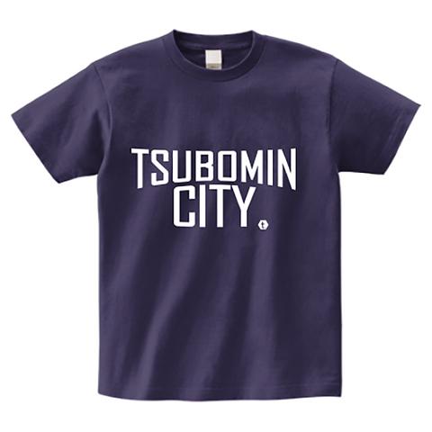 TSUBOMIN / TSUBOMIN CITY T-SHIRT DEEP-PURPLE