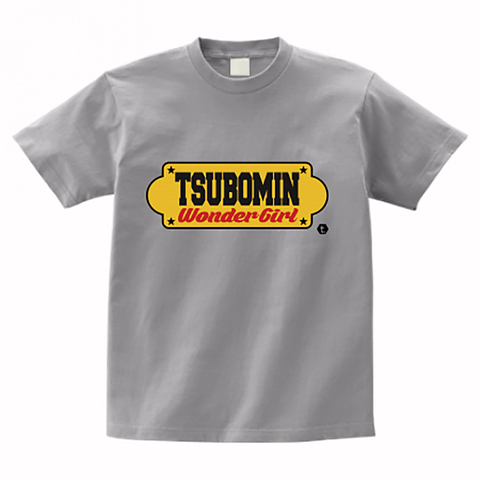 TSUBOMIN / YELLOW SIGNBOARD T-SHIRT GRAY