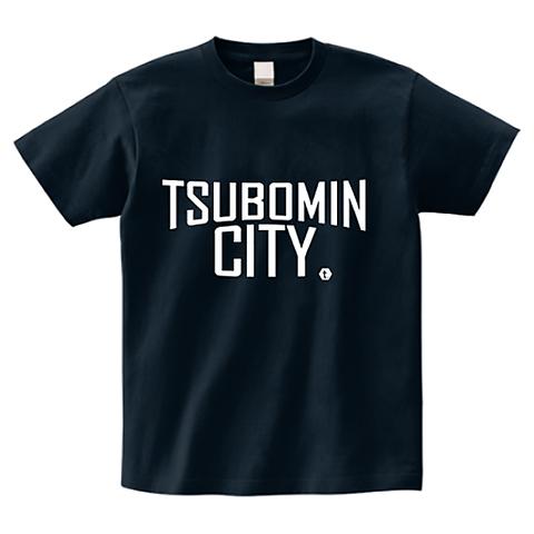 TSUBOMIN / TSUBOMIN CITY T-SHIRT NAVY