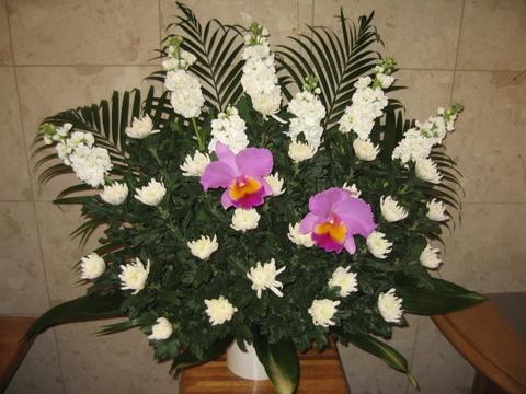 cs-150 葬儀生花[お悔やみのお花](ご供花)