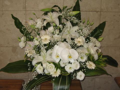cs-151 葬儀生花[お悔やみのお花](ご供花)