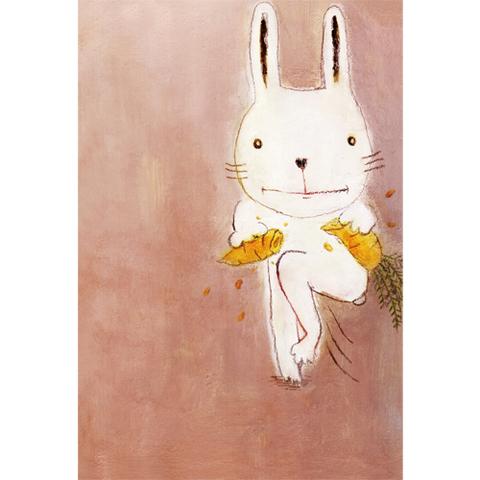 「カチワリウサギ」ポストカード