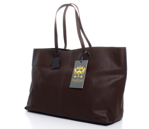 Bythorn Tote-MK2-DARK BROWN