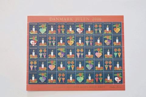 デンマーク クリスマスシール 2006