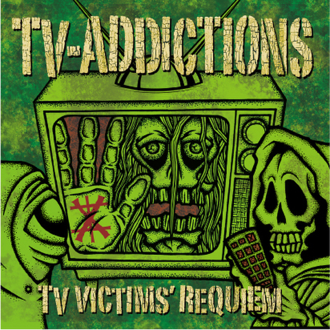 TV-ADDICTIONS CD 「TV VICTIMS' REQUIEM」