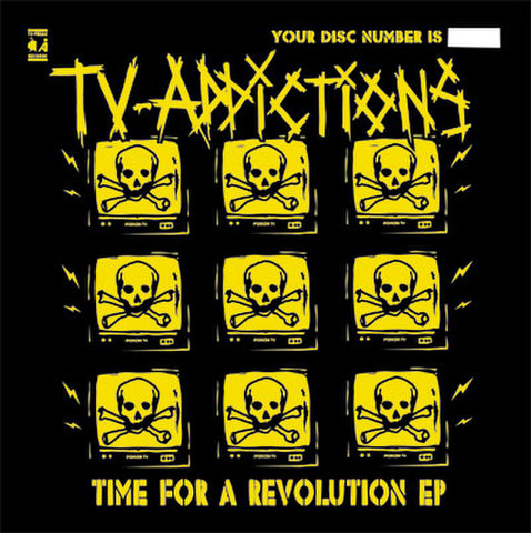 TV-ADDICTIONS CD-R Time For A Revolution EP