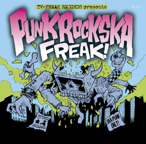 V.A. CD PUNK ROCK SKA FREAK!