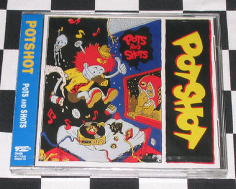 POTSHOT CD 「POTS AND SHOTS」