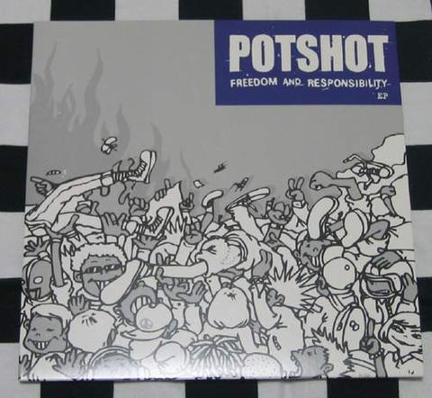 POTSHOT RECORD FREEDOM & ... & ステッカーセット
