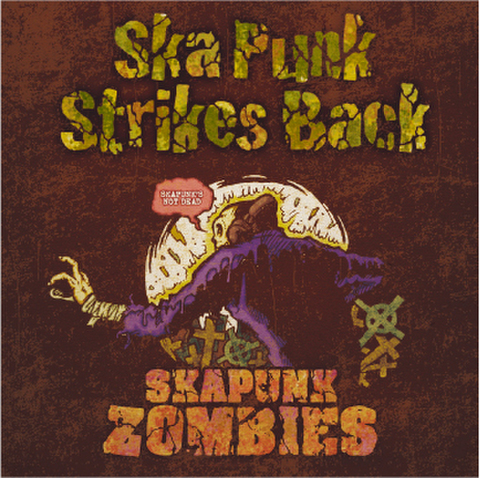 SKA PUNK ZOMBIES CD Ska Punk Strikes Back