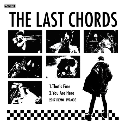 THE LAST CHORDS CD-R 2017 DEMOS