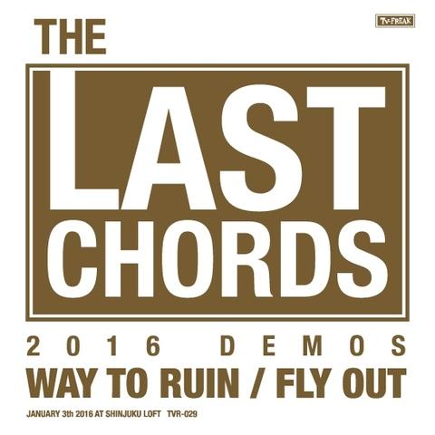 THE LAST CHORDS CD-R 2016 DEMOS