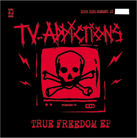TV-ADDICTIONS CD-R True Freedom EP