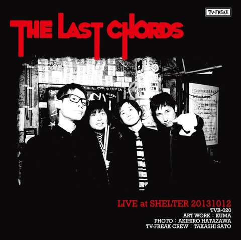 THE LAST CHORDS DVD-R Live at Shelter