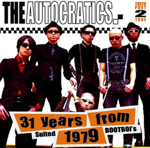 THE AUTOCRATICS CD「31 years from 1979」
