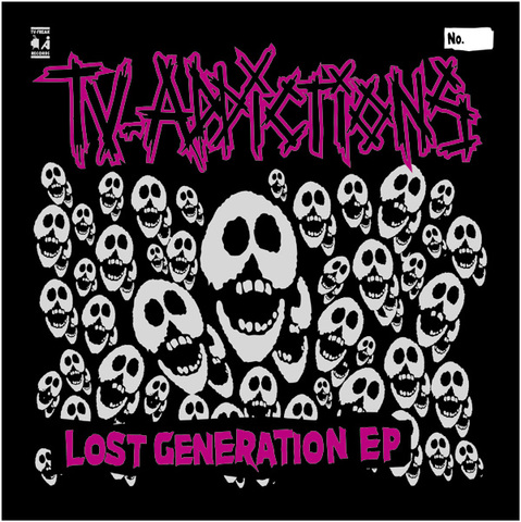 TV-ADDICTIONS CD-R Lost Generation EP