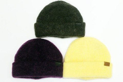 "INFIELDER DESIGN (インフィールダーデザイン) "" MOHAIR KNIT CAP """