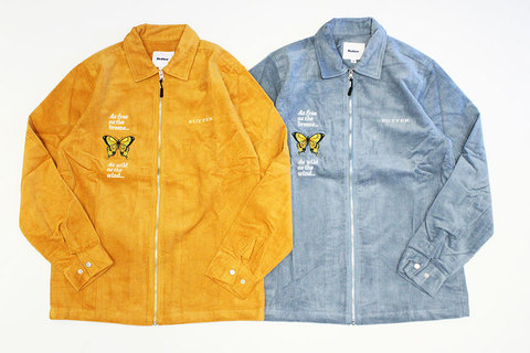 "BUTTER GOODS (バターグッズ) "" BUTTERFLY L/S WORKSHIRT """