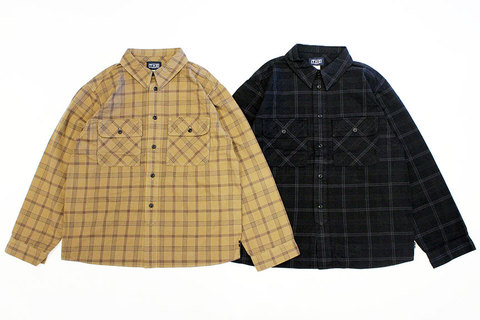 "THE FABRIC (ザ・ファブリック) "" ROLL-UP CHECK SHIRTS """