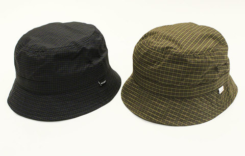"WHIMSY (ウィムジー) "" Plaid Cordura Nylon Hat """