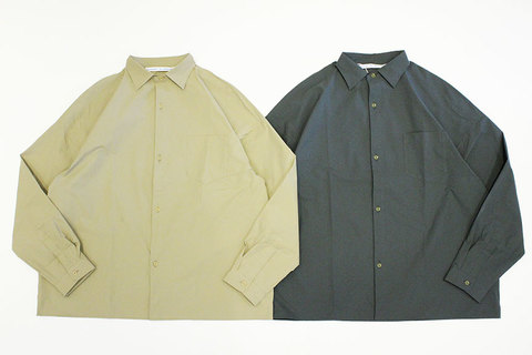 """Necessary or Unnecessary  """" SLOPING SHIRT PE """""""