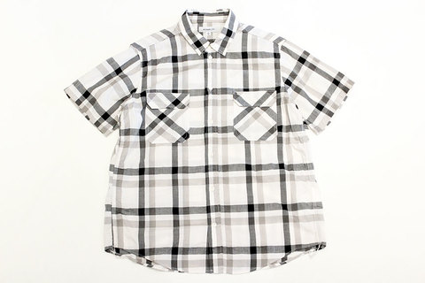 "Ordinary fits (オーディナリーフィッツ) "" WORK SHIRT S/S "" check"