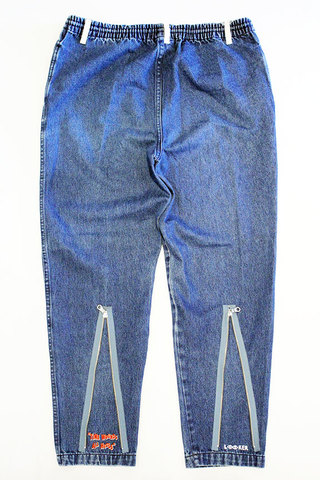 "LOOKER (ルッカー) "" DENIM ZIP PANTS "" Exclusive"