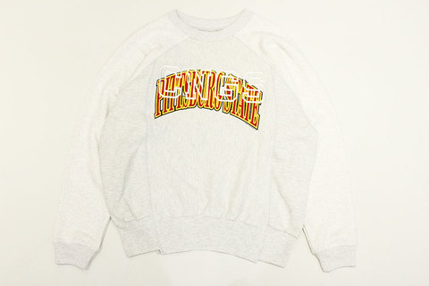 "CHANGES (チェンジーズ) "" Remake Crew Neck Sweat """