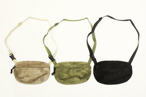"""THE COLOR (ザ・カラー) """" SUEDE FIELD POUCH """""""