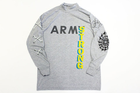 "HURRAY HURRAY (フレイ フレイ) "" ARMY STRONG MOCK NECK L/S TEE """