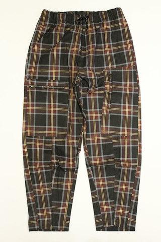 """DAISY CHAIN (デイジーチェイン) """" Zip Check Pants """""""