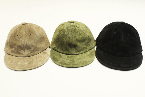"""THE COLOR (ザ・カラー) """" SUEDE SUN CAP """""""
