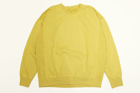 "THE FABRIC (ザ・ファブリック) "" RIB ST. CREW SWEAT """