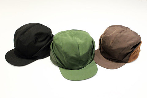 "COMFORTABLE REASON (コンフォータブルリーズン) "" Goldmans Ear flap cap """