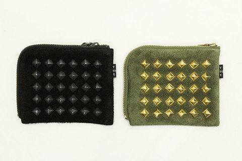 "THE COLOR (ザ・カラー) "" STUDS HALF WALLET """