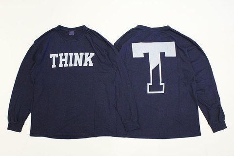"THE FABRIC (ザ・ファブリック) "" SP ' THINK ' L/S TEE "" Exclusive"