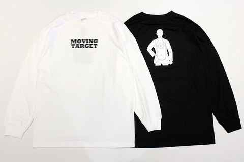 "LOOKER (ルッカー) "" MOVING TARGET "" LONG TEE"