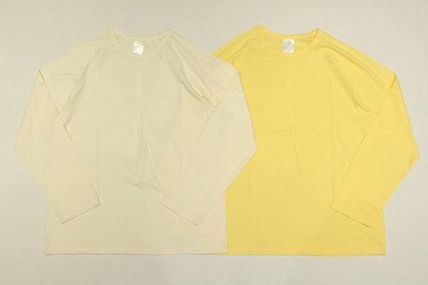 LOLO (ロロ) 1ポイントプリーツ ラグランTシャツ